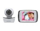 Motorola MBP43 Digitales Babyphone mit 3,5'' (8,9 cm) LC-Farbdisplay am Empfänger und Kamera in der Sendeeinheit
