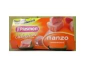 homogenisiert Rindfleisch plasmon(4x 80 gr.) omogeneizzato plasmon manzo