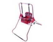 Stand Babyschaukel Babywippe Kindersitz Kinderschaukel Schaukel Zimmerschaukel (rot)