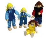 Goki Puppenhaus-Puppen Junge Familie [Kinderspielzeug]