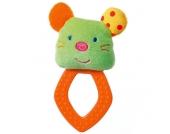 Baby Fehn Robos Greifling mit Softbeisser Maus [Babyspielzeug]