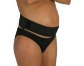 Bauchband, Stützgürtel für Schwangere, verstellbar, mit Klettverschluss