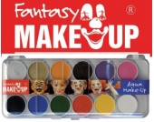 Fantasy Aqua Make Up Schminkset, 14-tlg.