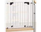 IMPAG ® Treppenschutzgitter Swing für Geländer | inkl. 2 Y-Adapter passend für 73cm - 142cm | Höhe 77cm | ohne Bohren |4 Farben | einfache Montage | Treppen-Gitter Baby Kleinkind Hund