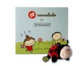 Namenslieder-CD mit Kuscheltier - 8 Personalisierte Kinderlieder gesungen mit Ihrem Wunschnamen - Persönliches Geschenk zur Taufe, Geburt, Geburtstag oder Namenstag
