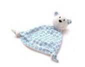 Schnuffeltuch Eisbär Finn Schnuffel - von STEINER - Kuscheltier handgefertigt | Schmuse-Tuch für Mädchen & Jungen zum Kuscheln | Baby-Tröster Spielzeug | Geschenk-Idee Weihnachten