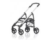 Inglesina AE37F6100 Kinderwagengestell Trilogy, faltbarer durchgehender Schieber passend zu Travelsystem, anthrazit