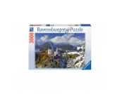 Schloß Neuschwanstein im Winter 3000 Teile