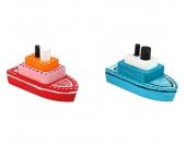 edumero Bastelset Holzboote, 10 Stück