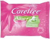 Carefree Aloe Intimpflegetücher