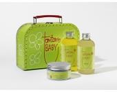 tomtomBABY Geschenkset New Born (Waschgel, Pflegeöl und Wundschutzcreme)