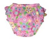 iplay Schwimmwindel UV-Schutz 50+ 6 Monate Flower Field Mädchen