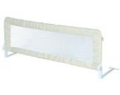 roba Bettschutzgitter Klipp-Klapp, klappbares Bettgitter für Babys & Kinder, Rausfallschutz 100 cm, beige
