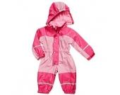 Playshoes Girls Babyoverall mit Fleece-Futter, rose/pink - Mädchen