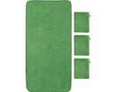 Kinderbutt Frottier-Set 4-tlg. grün