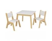 Moderner Kindertisch mit 2 Stühlen