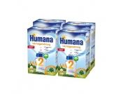 Humana Folgemilch HA 2 GOS stärkefrei 4 x 500 g