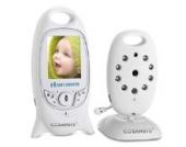 Cosansys Babyphone 2 Zoll Farb Wireless CMOS Baby Monitor Baby Überwachungskamera Reibungslose tragbare Überwachungskamera IR Nachtsicht Hohe Auflösung Lang Arbeitszeit