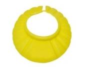 DDLBiz® Schampoo Baden Dusche schützen weiche Kappe Hut für Baby-Kinder (Gelb)