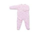 Bemini by Baby Boum 563LIZI147JP Schlafstrampler, 0-3 Monate Jersey - Baumwolle, 47 darling