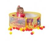 JOHN Ball-Pool Winnie the Pooh mit 30 PE-Bällen 72036