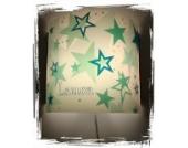 Lampe Kinder Wandlampe Schlummerlampe Nachtlicht mit Schalter personalisiert mit Namen Sterne