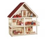 Puppenhaus inkl. Zubehör