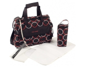 Chic 4 Baby Wickeltasche Luxury (Orbit Red) [Kinderwagen]