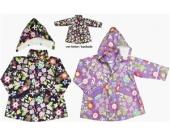 Regen-Mantel  f�r Kinder aus der Serie Flower Rowe