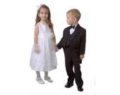 Kommunionhandschuhe - Handschuhe zur Kommunion oder Hochzeit in WEISS aus SPITZE