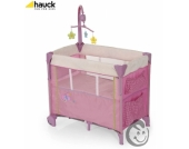 Hauck Dream´n Care Center Butterfly Reisebett und Beistellbett
