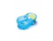 dBb-Remond 306246Baby Badewanne mit eingebauten Baby Stuhl transluzent blau 0–6Monate