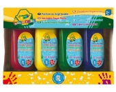 MINI KIDS Fingerfarben, 4 x 147 ml