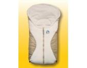 Heitmann Eisbärchen Fußsack für Babyschale beige