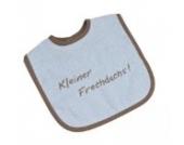 BeBe's Collection Klett Lätzchen Kleiner Frechdachs blau