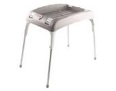 OK Baby O38450040 Kunststoff-Ständer für Badewanne Onda, grau