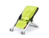 'Babyhome Canopy Extender und Bellemont Babywippe Metall Onfour Lime