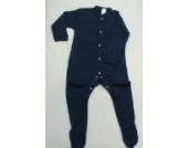 BabywearUK Schlafanzug - Marineblau - 18-24 Monate - British Made