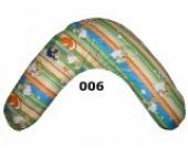 Natalia Spzoo® Baby Stillkissen Seitenschläferkissen Lagerungskissen 190 cm 12 Farben XXL Mikroperlen (006-Mikroperlen)
