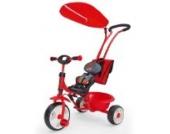 NEU Tricycle BOBY Delux NEU Kinderdreirad DREIRAD RED mit Klingel + Sonnenschutzdach