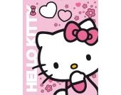 Kuscheldecke, Hello Kitty, 120 x 150 cm