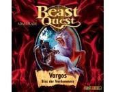 Beast Quest 22: Vargos, Biss der Verdammnis, 1 Audio-CD