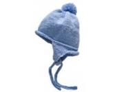 Baby Jungen Strickmütze/Bindemütze,hellblau,Größe 9-18 Monate