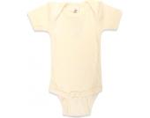 Engel Baby-Body Kurzarm Wolle